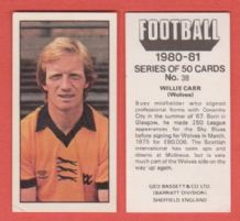 Wolverhampton Wanderers Willie Carr 38